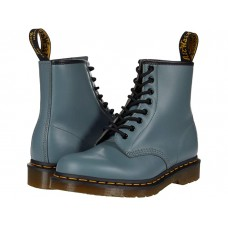 Men Dr. Martens 1460 Smooth Leather Boot Steel Grey Smooth CUBWW733